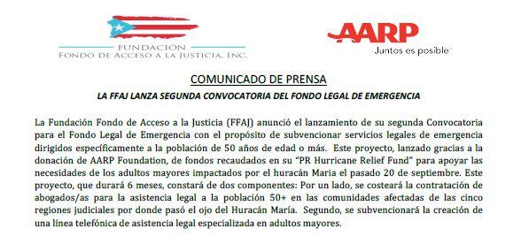 La FFAJ lanza Segunda Convocatoria del Fondo Legal de Emergencia