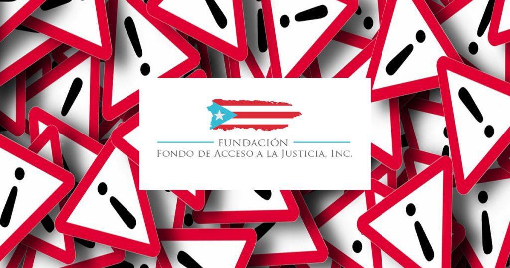 ¡IMPORTANTE! NUEVO FORMULARIO (aprobado por FEMA)